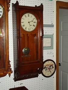Seth thomas 39queen anne39 wall clock for sale antiques for Seth thomas wall clocks for sale