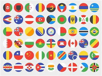 Flags Country Dribbble Flag Simplified Google Calvert