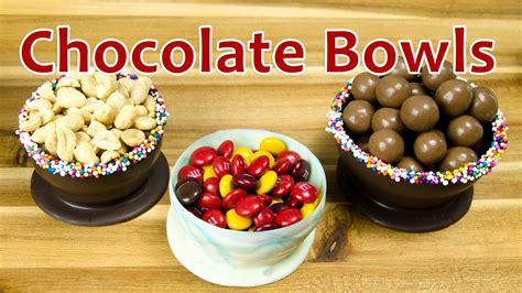 how to make chocolate bowls how to make chocolate bowls by cookies cupcakes and cardio youtube