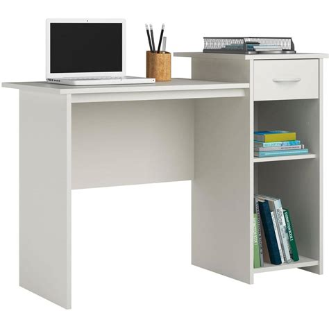 mainstays student desk finishes student desk table storage organizer computer workstation