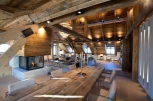Ultra Modern Ceiling Fans by Chalet Con Camino E Splendido Living Nelle Alpi