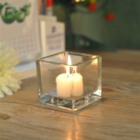 square candle holders home decor square glass candle holders on okcandle