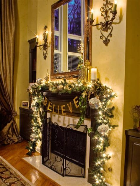 Christmas And Holiday Mantel Designs And Ideas Design