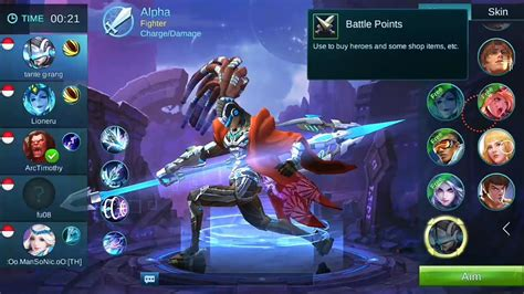 Mobile Legends New Hero Alpha First Gameplay Mvp