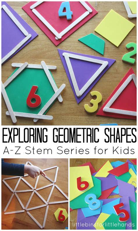 preschool math activites geometric shapes activity stem ideas for 861