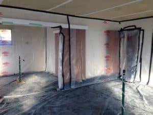 asbestos air monitoring  clearance testing