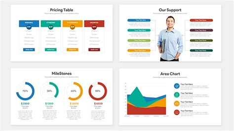 Pitch Deck Template Startup Pitch Deck Free Powerpoint Template