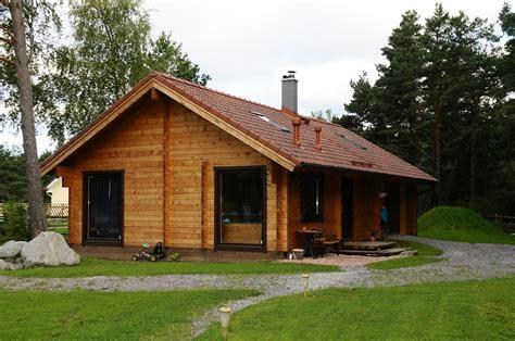 maisons en bois naturel