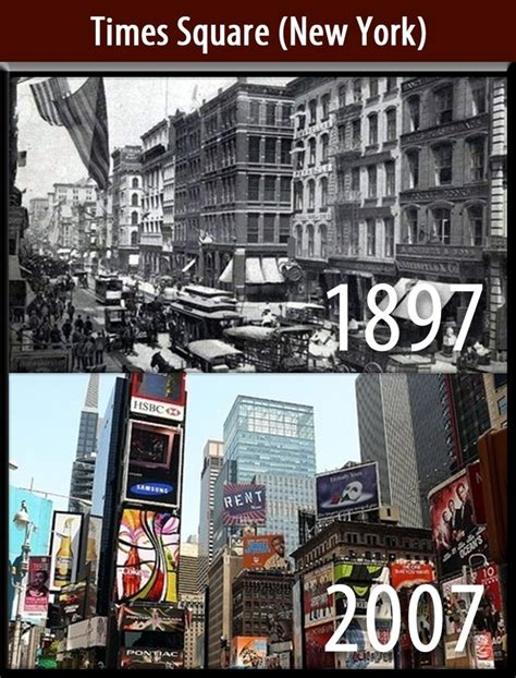 Times Square (new York) Copy  Places  Then And Now