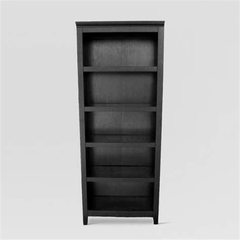 Target Bookcase Black by Carson 5 Shelf Bookcase Black Threshold Target