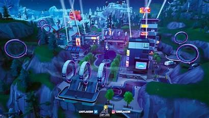 Fortnite Season Tilted Neo Map Mall Mega