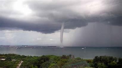 Tornadoes Last Waterspout Tornado Water Spout Reference