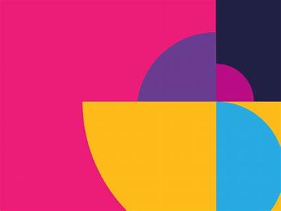 Shape Space Graphic Pattern Dribbble Cool Circle