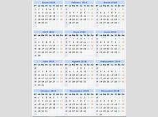 Descargar calendario 2018 6 2019 2018 Calendar