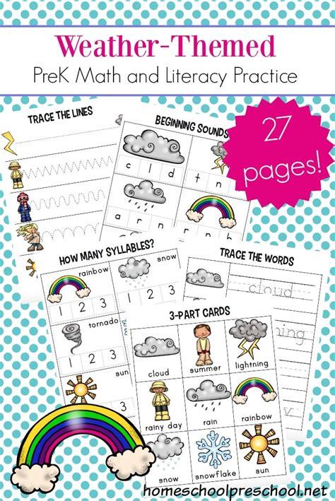 free preschool weather worksheets free homeschool deals 646   1aff 31