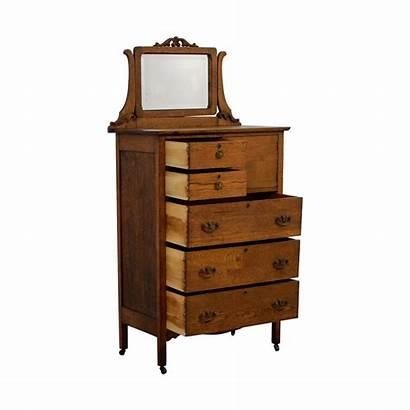 Dresser Tall Mirror Antique Storage Dressers Second