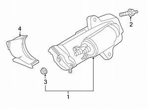 Ford Escape Starter Bolt  2 0 Liter  2 0 Liter Turbo  2 5