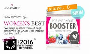 Women U0026 39 S Best Pre Workout Booster Is Actually The Worst