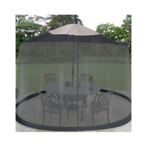 Mosquito Netting For Patio Umbrella Black by Outdoor Umbrella Patio Table Screen Black Mosquito Mesh