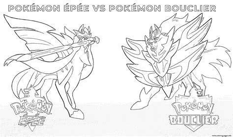 pokemon sword  pokemon shield  coloring pages printable