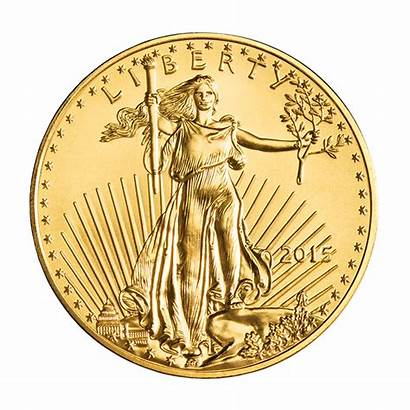 Gold Eagle American Oz Coin Bullion Silver