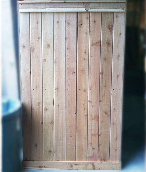 outdoor shower kit cedar wall panel large tongue  groove