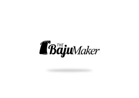logo design  baju maker  behance