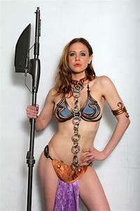 MAITLAND WARD - Princess Leia Photoshoot at Meltdown