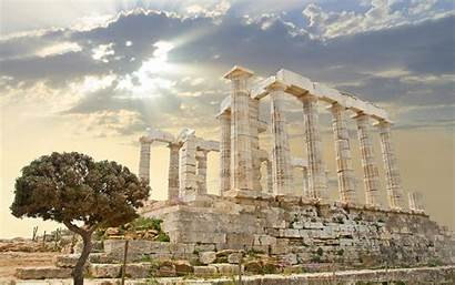 Greek Ancient Wallpapers Temple Backgrounds