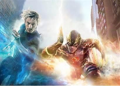 Flash Tv Dc Wallpapers Quicksilver Marvel Comics