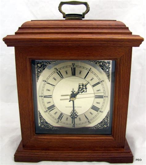 battery operated mantel clocks westminster chime oak wood mantel clock battery operated 4349