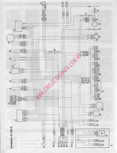 xt600 wiring diagram 20 wiring diagram images wiring