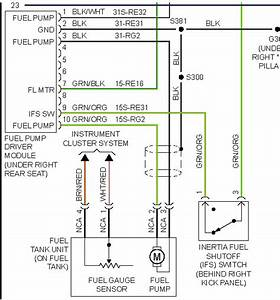 2000 Ford Focus Fuel Pump Wiring Diagram