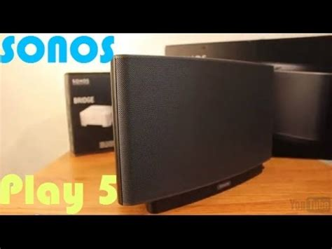 sonos play  review wireless home sound system youtube