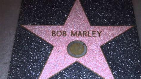bob marley fame walk hollywood star