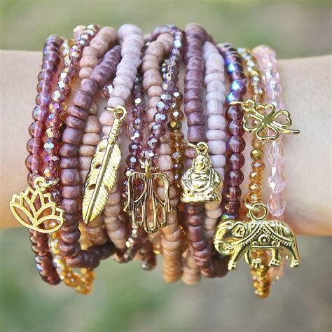 Bohemian Boho Charm Bracelets My Halcraft Necklace