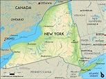 Map of New York - TravelsFinders.Com