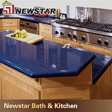 Kitchen Design Dark Blue Quartz Countertops   Buy Dark