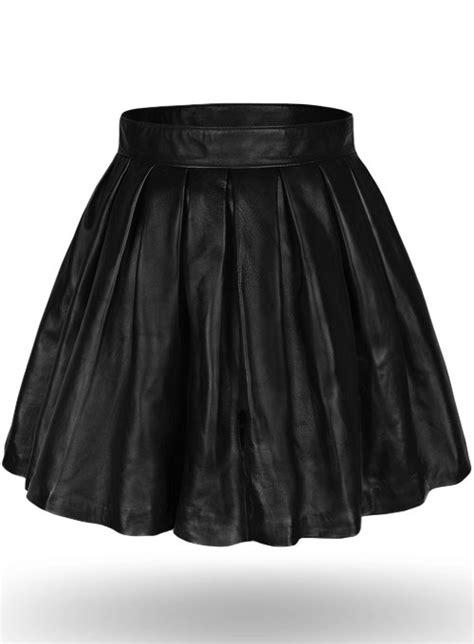 pleated leather skirt pleated leather skirt
