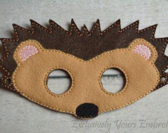igel maske von littlegiantleap auf etsy kostueme