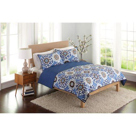 better homes and gardens bedding better homes and gardens suzani bedding quilt blue