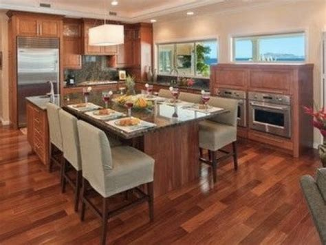 kitchen island without seating give up kitchen table for island seating no other inside 5233