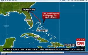 el faro cargo ship sinks during hurricane joaquin with 28