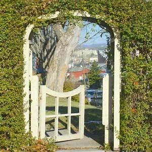 Aus Welchem Holz Baut Man Einen Bogen : heckenbogen gestalten mein sch ner garten ~ Orissabook.com Haus und Dekorationen