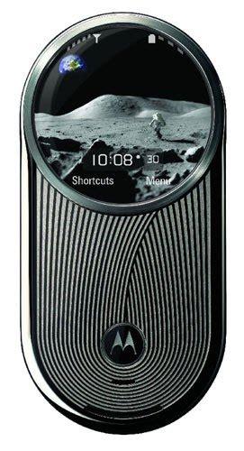 wireless  mobile news moon walk phone  moto