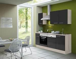 Küche 240 Cm Mit Elektrogeräten : k chenzeile leon vario 2 k che mit e ger ten breite 210 cm braun k che k chenzeilen ~ Bigdaddyawards.com Haus und Dekorationen