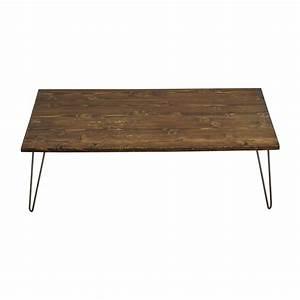 61 off custom made rustic reclaimed wood coffee table With coffee tables made from reclaimed wood