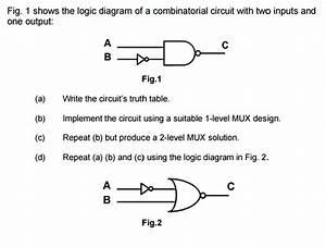 B96aa 2 1 Mux Logic Diagram