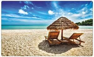 Liege, Am, Strand, Beach, Meer, Wandtattoo, Wandsticker