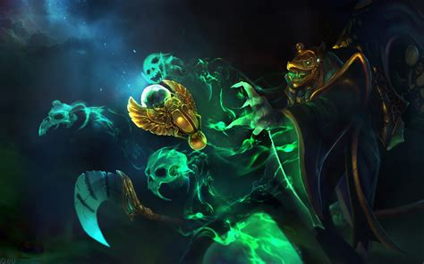 video games dota  necrophos fantasy atr skin hd wallpaper